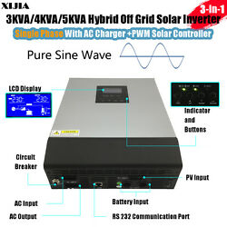 3KVA4KVA5KVA hybrid pure sine wave inverter with charger+solar controller