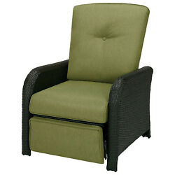Outdoor Reclining Lounge Chair Cilantro Green