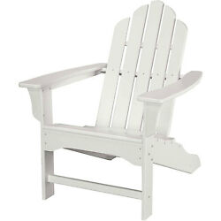 All-Weather Contoured Adirondack Chair White