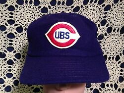 RARE Vintage Chicago Cubs 1920's-40's Wool Size Large Flexfit Hat Cap MLB WS