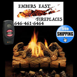 Monessen Charred Hickory Vent Free Gas Log Set 24