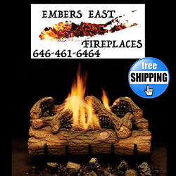 Monessen Charred Hickory Vent Free Gas Log Set 18