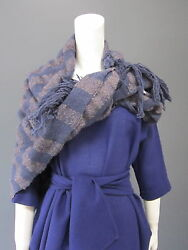 DANIELA GREGIS wool & cashmere wrap  shawl NEW with TAG 44 inches x 48 inches