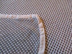 Vintage PRIMITIVE look Bedding blanket French Country Shabby Cottage Cabin CHIC