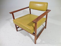 60's Vintage Harvey Probber Mid 20th Century Modern Space Frame Lounge Armchair