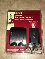 LANDSCAPE LIGHTING OUTDOOR REMOTE CONTROL POWER SYSTEM NEW IN SEALED PACKAGE $7.49