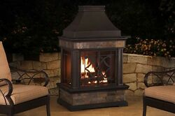 Outdoor Fireplace Kits With Chimney Wood Fireplace Insert 35.4