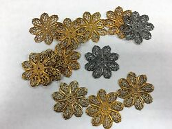 15 metal shapes fancy for assemblage art Steampunk $8.60