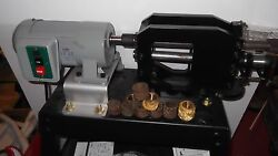 Craftool Leather Belt Embossing Machine with Rolls and Stand