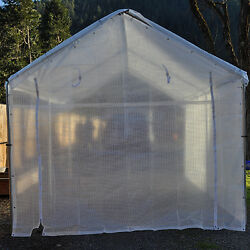 5pc 14 mil Heavy Duty Greenhouse Canopy Kit CLEAR Fiber Reinforced(Choose Size)