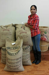 100% Kona Hawaiian Coffee Medium Roast Whole Beans Fresh Roasted Daily 1 Pound $20.95