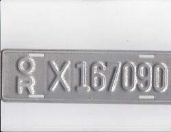 Oregon Manufactured Home License Plate Mint Condition.