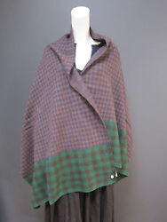 45rpm 100 % wool  scarf  shawl  wrap NEW with TAG   74.80 x 28.74 inches