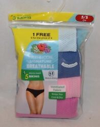 Fruit of the Loom Signature 5 pack Breathable Micro Mesh Bikinis $23.00