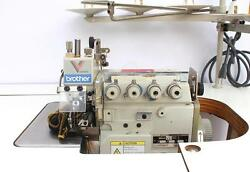 BROTHER MA4-V91 2-Needle 5-Thread Top Feed Overlock Industrial Sewing Machine