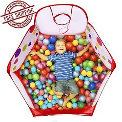 Ball Tent Baby Toy Stages Toddler Kids Boys Girls Play Mini Basketball Hoop Bag