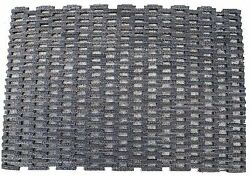 Durable Corporation 400 Dura-Rug Fabric Tire-Link Entrance Mat for Outdoors a...