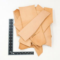 Springfield Leather Co. Vegetable Tan Tooling  Cowhide Leather Remnant Scrap $15.99