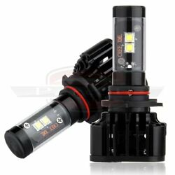 CREE LED 9006 80W 8000LM Bulb Headlight Light For Freightliner Columbia 96-2013