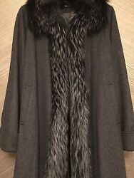 Women's Cashmere  Fox Coat
