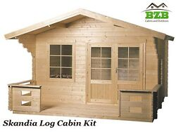 Log Cabin Kit Pool or Garden House 12'3