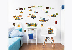 My First JCB Wall Stickers for Kids bedrooms Walltastic GBP 14.99