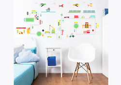 Transport Wall Stickers for Kids bedrooms Walltastic GBP 14.99
