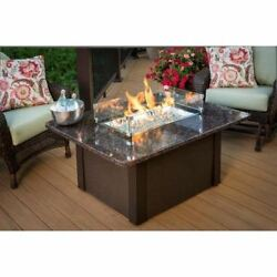 Grandstone Fire Pit with Napa Valley Brown Base