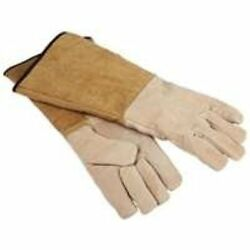 HOMEBASIX CPA03110MM3L Fireplace Hearth Gloves 16-Inch