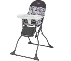 Baby High Chair Multicolor Plastic Elephant Puzzle Simple-Fold Free-Standing New