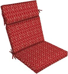 Garden Treasures Red Replacement Cushion for Outdoor Patio Yard High-Back Chair