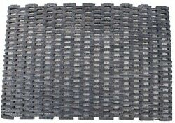 Dura-Rug Fabric Tire-Link Entrance Mat Outdoors Vestibules Thickness Natural