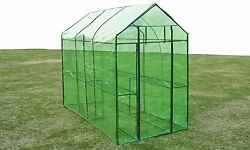 Greenhouse Kits Plastic Portable Small Patio Outdoor Gardening Flower Seed Frame