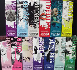 PULP RIOT Semi Permanent Professional Direct Hair Color 4oz (Select any Shade)