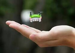 Mini Drone Small Pocket Drone Quadcopter 3D Roll Helicopter Kids Remote Control $29.98