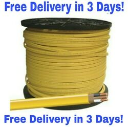 12/2 W/GROUND ROMEX INDOOR ELECTRICAL WIRE 50' FEET (YELLOW OR PINK)  $26.99