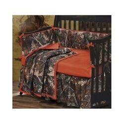 Baby Bedding Sets For Boys Shower Gifts Crib Camo Camouflage Western Rustic 4pcs