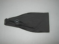New Tough Headwear Mens Headband Sweatband Sports Headband Dark Gray Stretchy $8.99