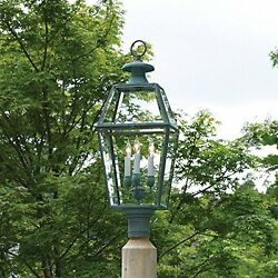 GOOD-99906605-Lazy Hill Farm Designs 999066 - 05 Old Colony Post Mount Lantern