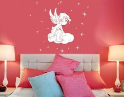 Heavenly Angel Wall Decal Stickers $9.95
