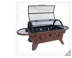 Landmann Northern Lights XT Stars and Moons Fire Pit NEW Ring Outdoor Lawn Patio