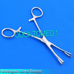 New 6quot; Pennington Forceps Slotted Clamp Standard Piercing Tool $4.66
