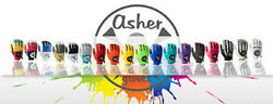 Asher Golf Gloves Men#x27;s Various Bold Colors amp; Sizes PLAY WITH STYLE NIW $18.00
