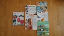 Lot 6 Real Simple The Organized Home Book + 5 Organization Magazine Magazines