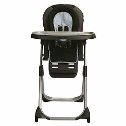 LX Baby High Chair DuoDiner Polyester Plastic Metal 40 Pounds Metropolis