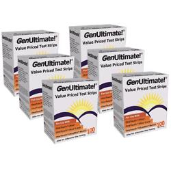 NEW GenUltimate Value Priced Test Strips 100ct 6PK for OneTouch Ultra Meter KIDZ