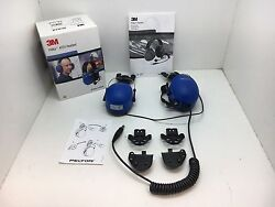 Globe Roamer 3M Peltor MT7H79P3E-50 ATEX Rated Helmet Attaching Earmuff Headset $324.88