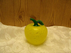 Collectible Murano Style Blown Glass Fruit AppleFarmhouse Home DecorShe Shed
