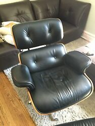 Eames Reprod. Lounge Chair and Ottoman