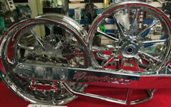 ABS MODELS CHROME 240 KIT WITH TORNADO WHEELS FOR GEN 2 2012-2016 HAYABUSA